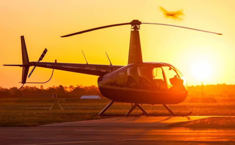 Brisbane City Sunset Flight