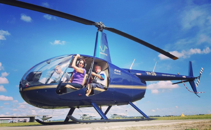 HELICOPTER FLIGHTS BRISBANE