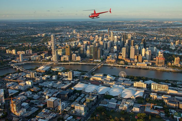 Brisbane City Helicopter Flight