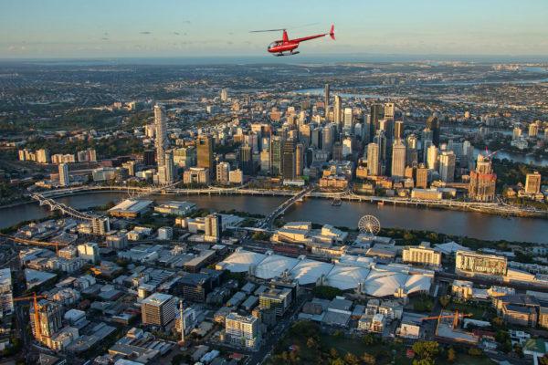 Brisbane City Helicopter Flight