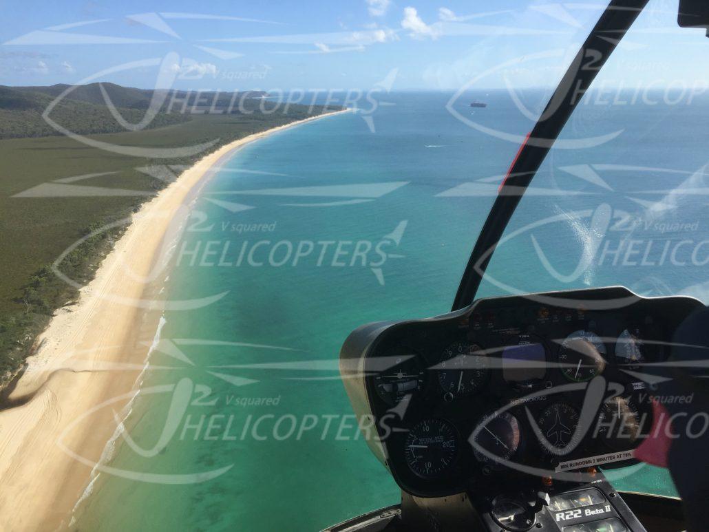 STRADBROKE ISLAND - V2 Helicopters